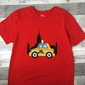 Nike The Nike Tee Red Taxi Cab T-Shirt